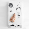 Rookie Humans Cot Sheet - Frieda & The Balloon 70 x 140cm