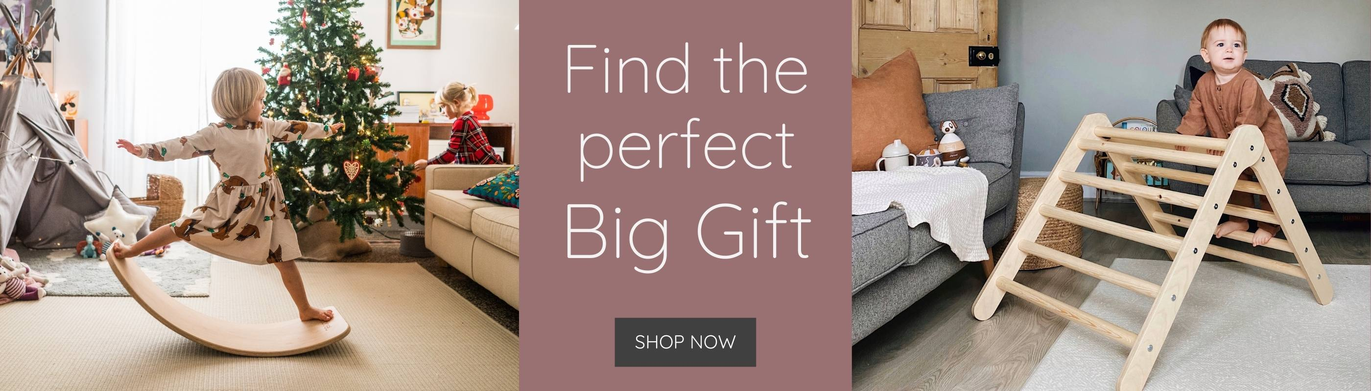 Find the perfect Big Gift for your little one