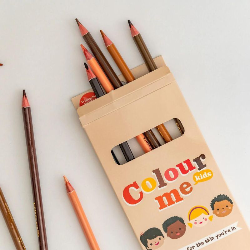 Colour Me Kids Skin Tone Crayons