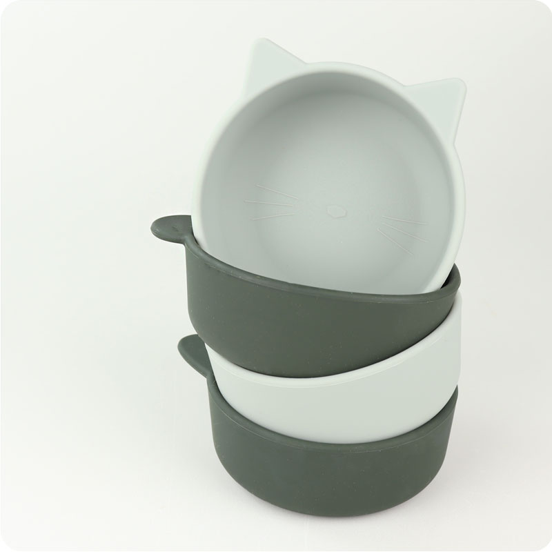 Liewood Iggy Silicone Bowls - Hunter Green Mix