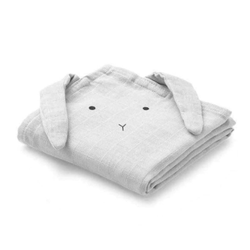 LIEWOOD HANNAH MUSLIN CLOTH 2PK -  RABBIT