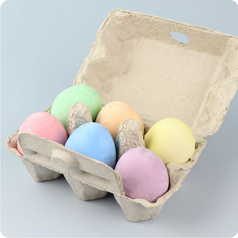 MICADOR EARLY START EGG CHALKS - PACK OF 6