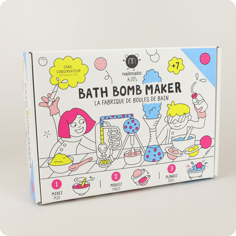 Nailmatic Galaxy Bath Bomb Making Kit