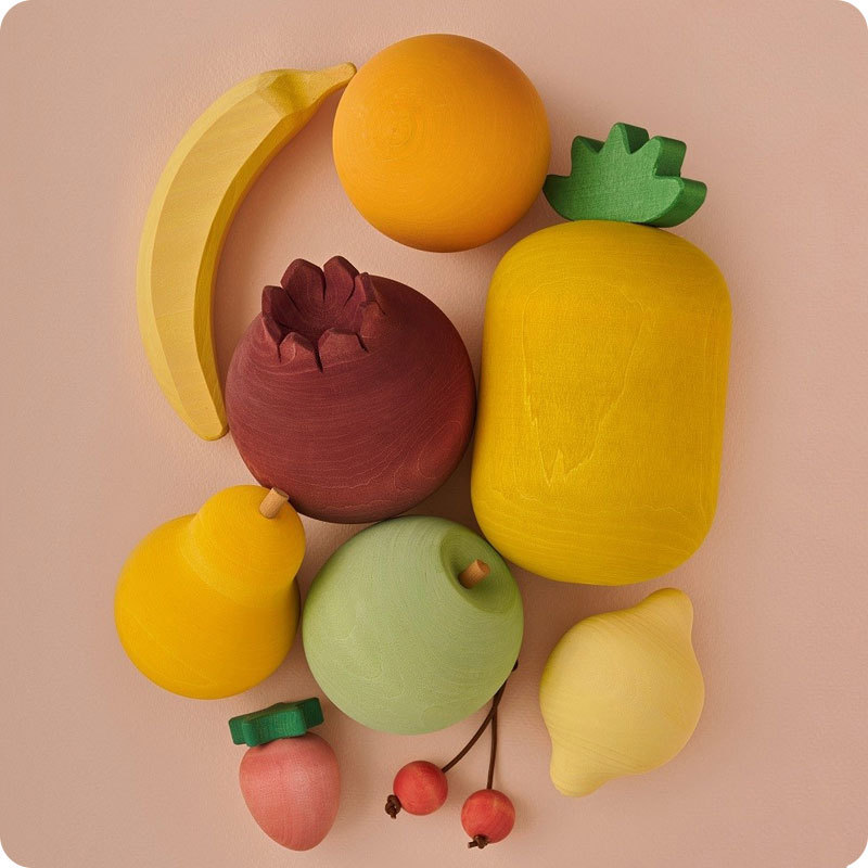 RADUGA GREZ VOL 1 WOODEN FRUITS SET