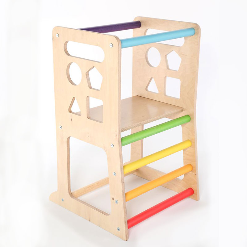 SAWDUST & RAINBOWS STANDUP KITCHEN HELPER - RAINBOW