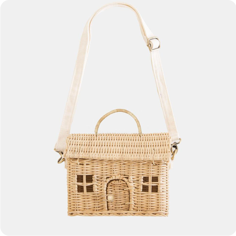 OLLI ELLA CASA BAG - STRAW