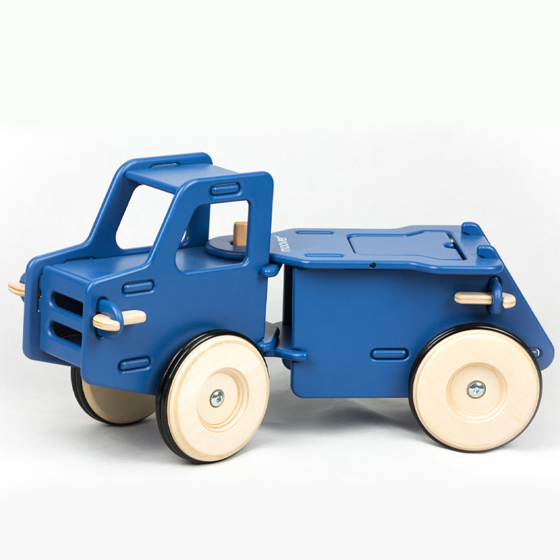 MOOVER RIDE-ON DUMP TRUCK - NAVY BLUE