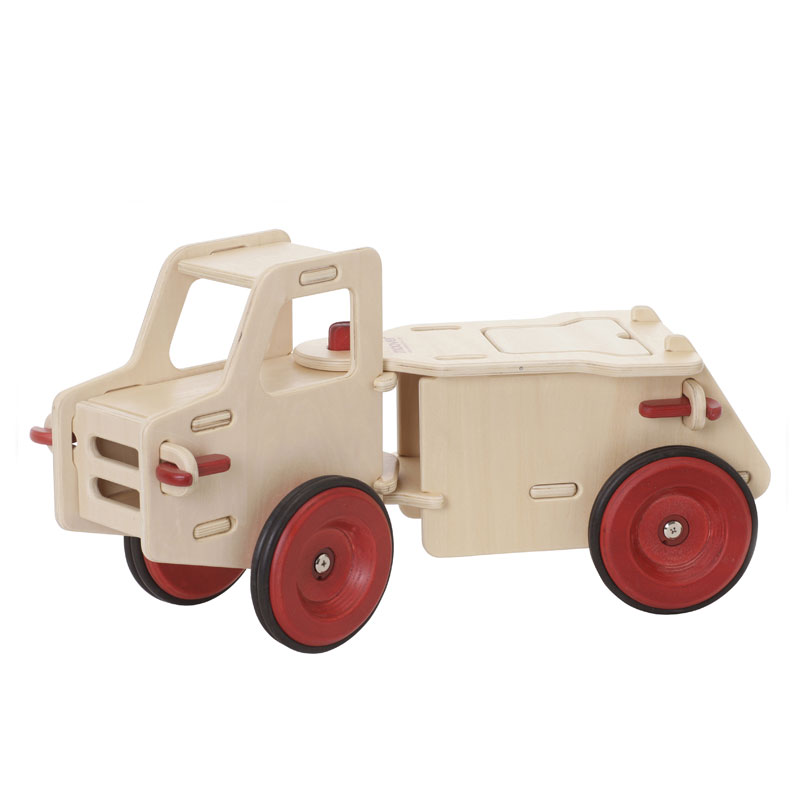 MOOVER RIDE-ON DUMP TRUCK - NATURAL
