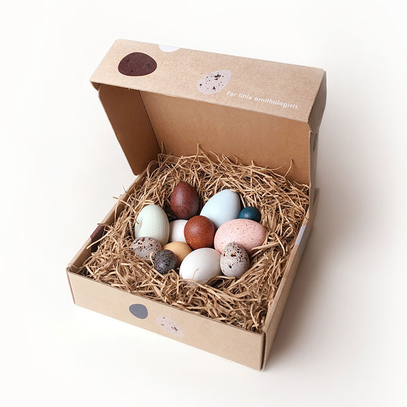 Moon Picnic A Dozen Birds Eggs In A Box
