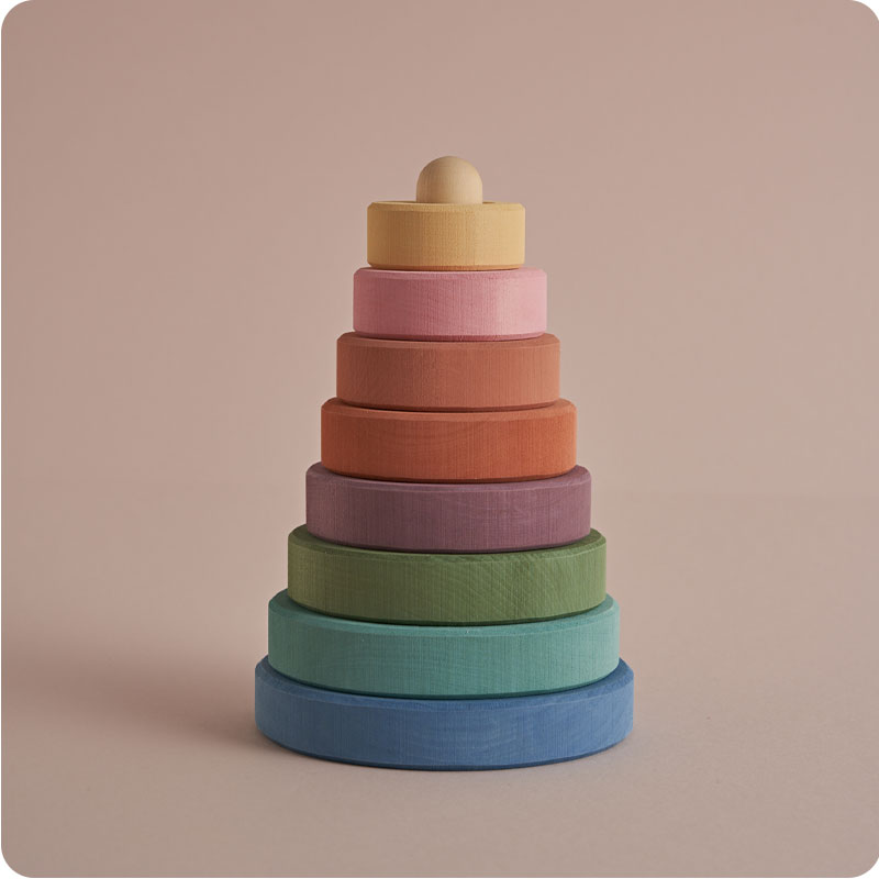 RADUGA GREZ STACKING TOWER  - PASTEL EARTH