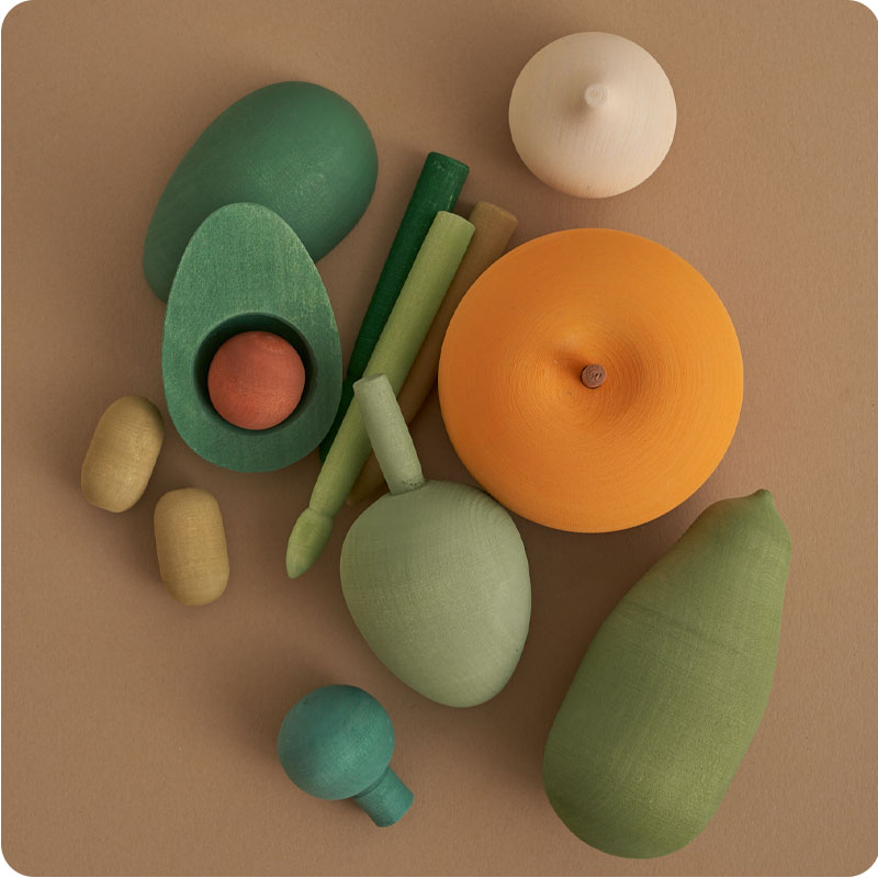 RADUGA GREZ VOL 2 WOODEN VEGGIES