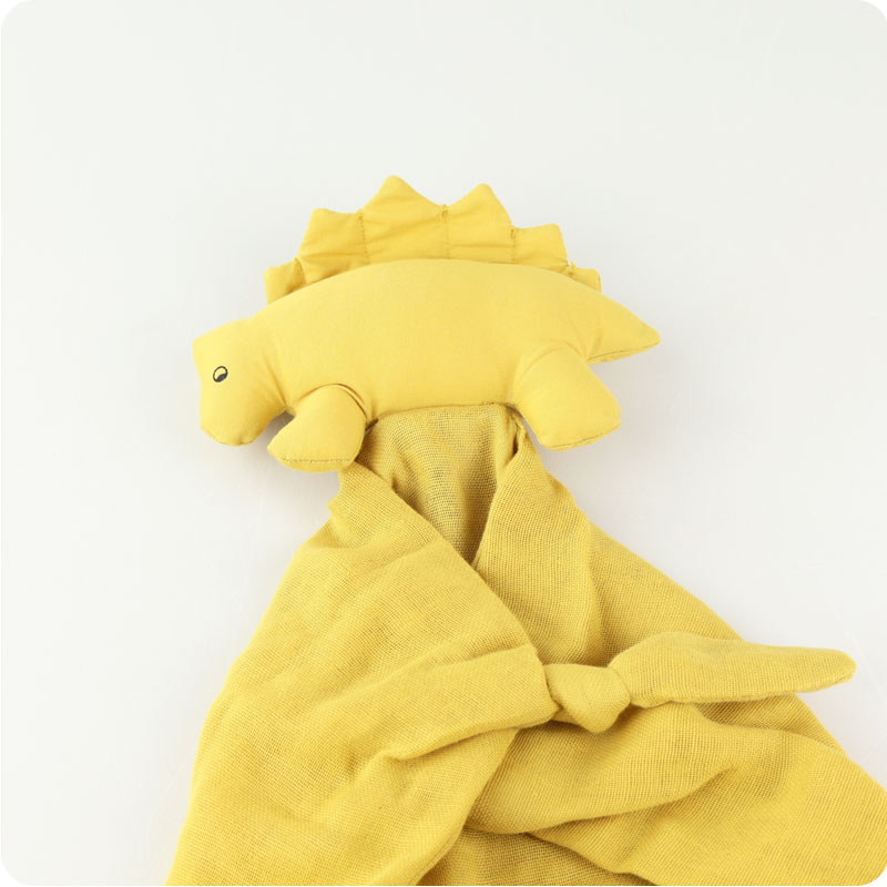 LIEWOOD AGNETE CUDDLE CLOTH - DINO MELLOW YELLOW
