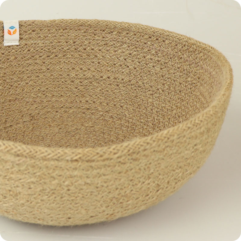 reSpiin - JUTE BOWL - LARGE - NATURAL