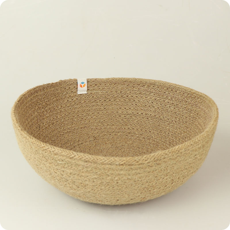 reSpiin - JUTE BOWL - MEDIUM - NATURAL