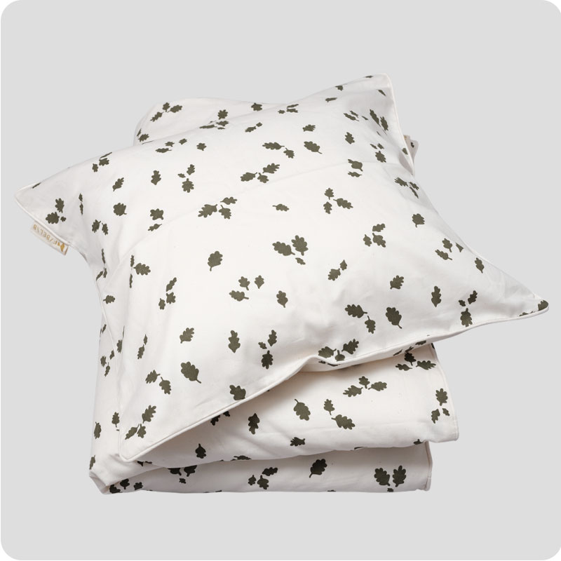 FABELAB BEDDING - LEAVES ADULT