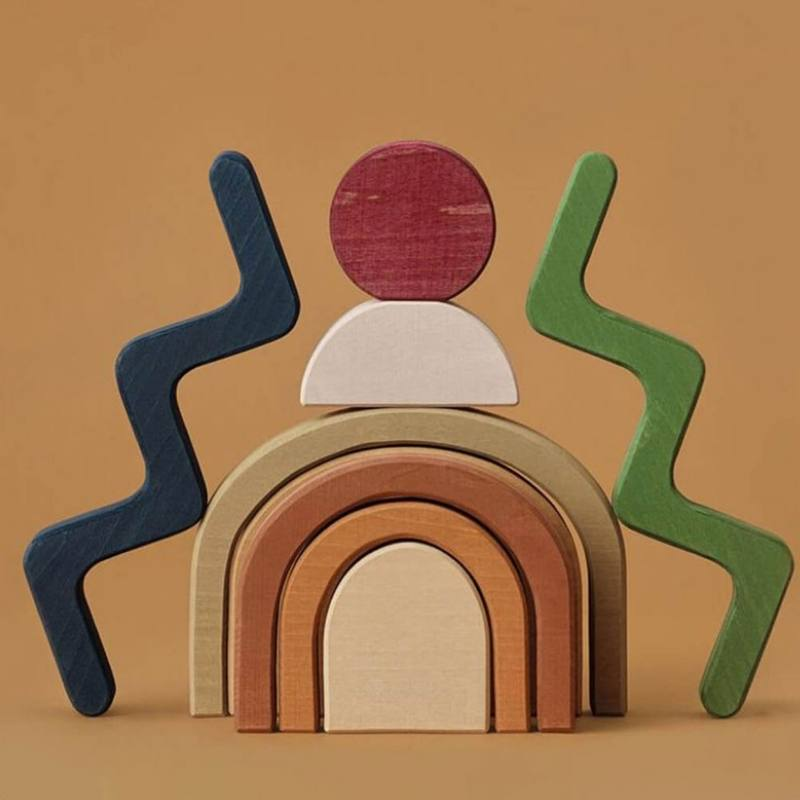 Raduga Grez Shapes Building Blocks