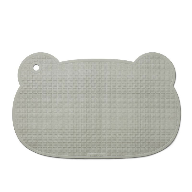 LIEWOOD SAILOR BATHMAT - MR BEAR DOVE BLUE