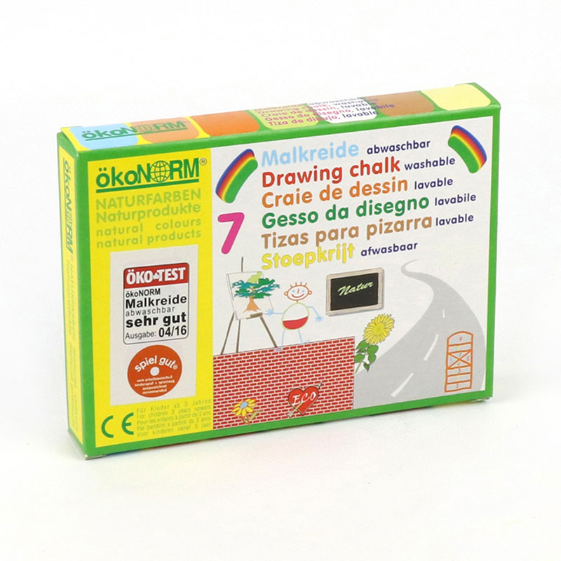 OKONORM DRAWING CHALK - 7 COLOURS