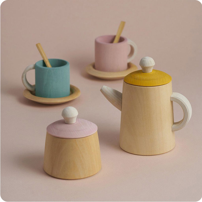 RADUGA GREZ TEA SET - PASTEL