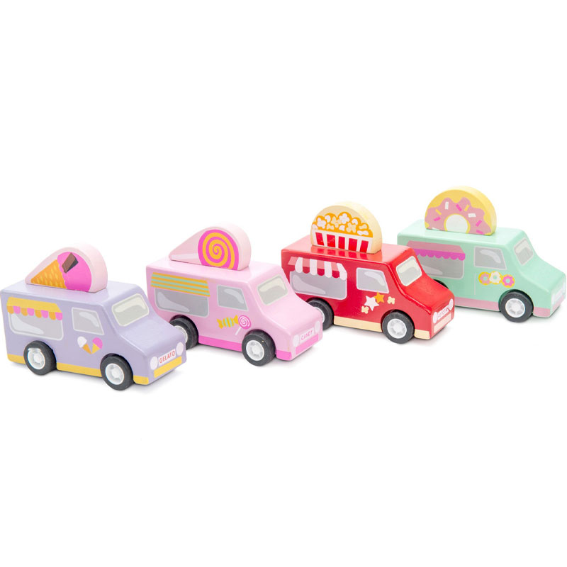 Le Toy Van Sweet & Treats Pullbacks