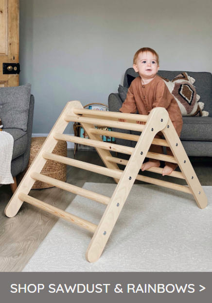 Shop Sawdust & Rainbows Pikler Triangle Climbing Frames